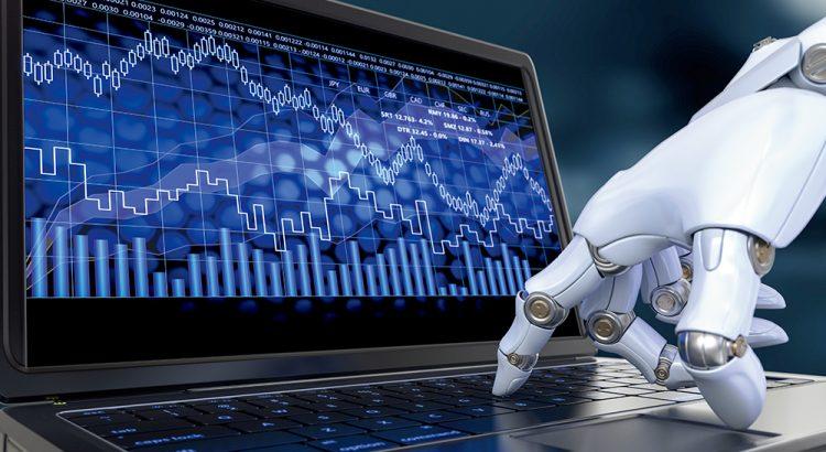 Robô Investidor Trader Header