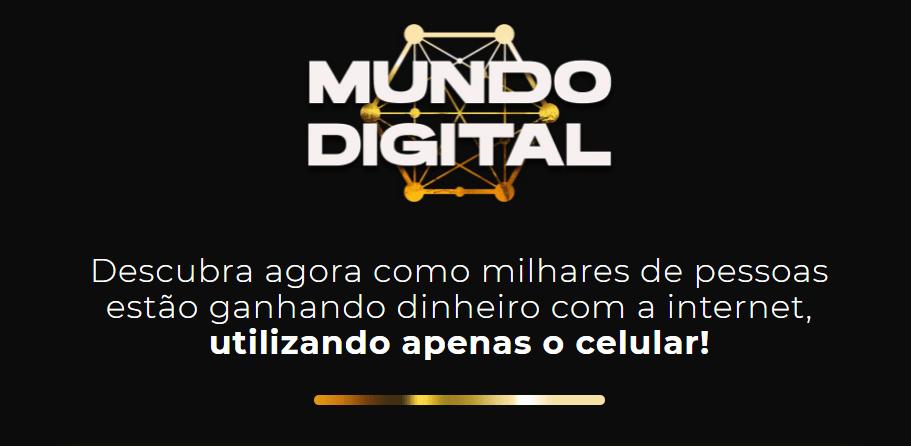 Mundo Digital Funciona: Ele faz 100 mil por mês e vai te mostrar que é totalmente possível ganhar dinheiro sem sair de casa começando hoje!